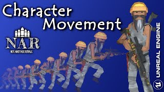 Character Movement of NAR - Not Another Royale | Multiplayer Shooter | Different GameModes | Polygon