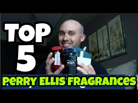 Top 5 Perry Ellis Fragrances