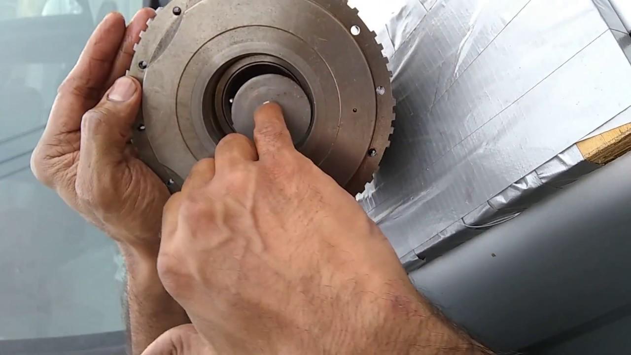 4l80e Transmission Blind Bushing Removal - Snap Ring Trick