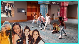 OUR FIRST DAY AT PLAYLIST LIVE , ORLANDO 2019 | SISTERFOREVERVLOGS #461