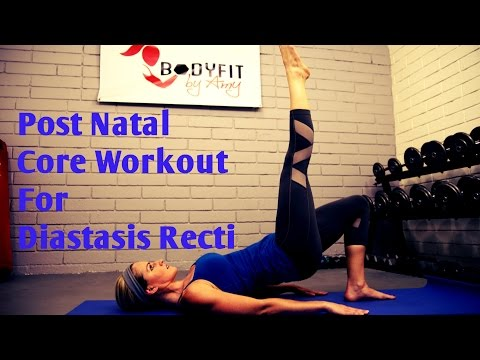 8 Minute Diastasis Recti Core Workout For Ab Separation After Pregnancy