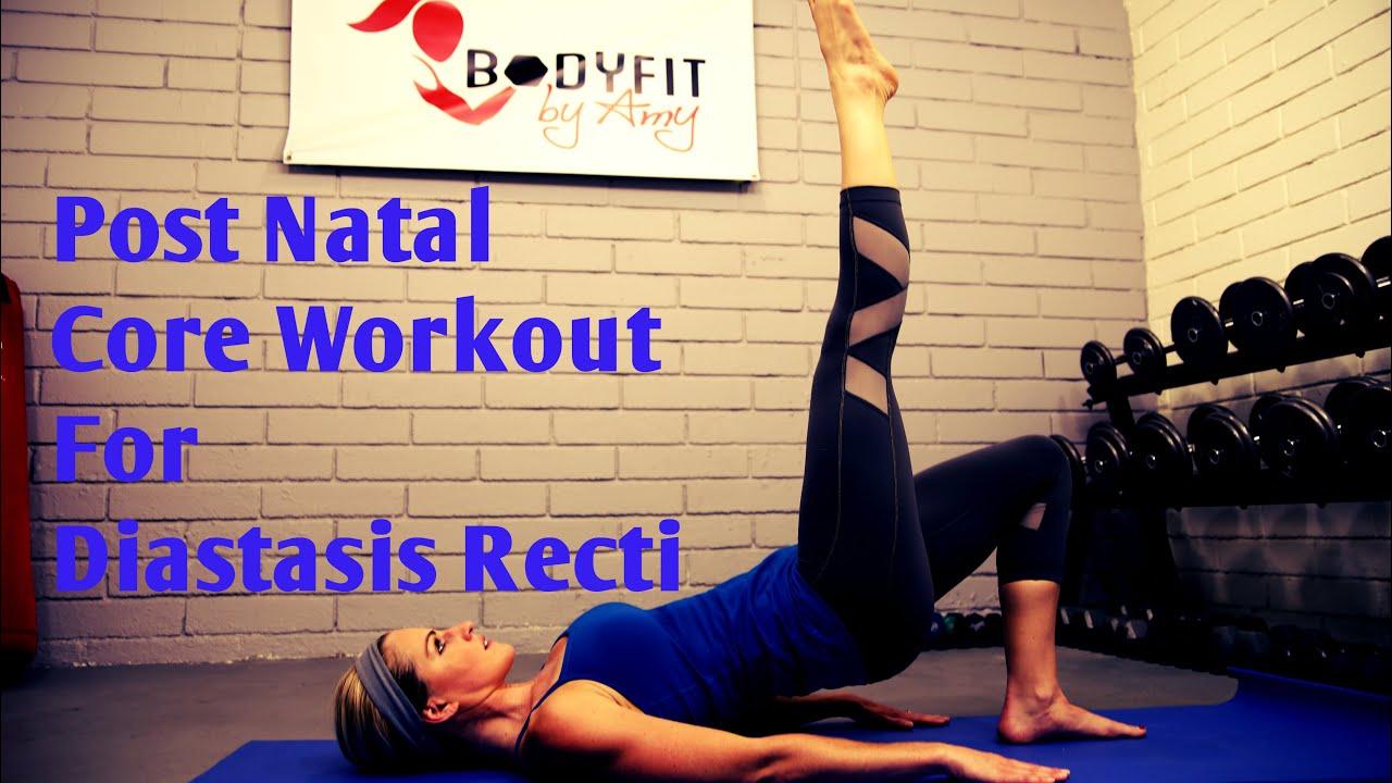 8 Minute Diastasis Recti Core Workout For Ab Separation ...