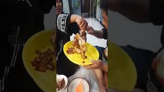 Makan bersama abi umi