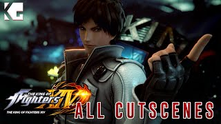 The King of Fighters XIV - All Story Mode Cutscenes [PS4 HD]