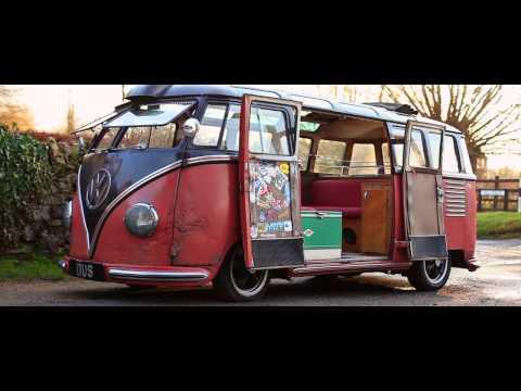 Rikki James VW Split Screen Barndoor Samba 1954 The Video Volks