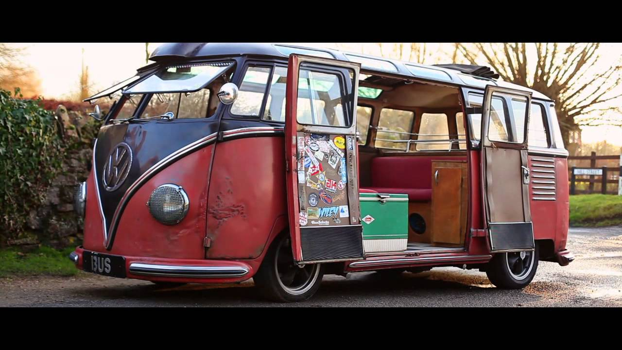 Rikki James Vw Split Screen Barndoor Samba 1954 The Video Volks