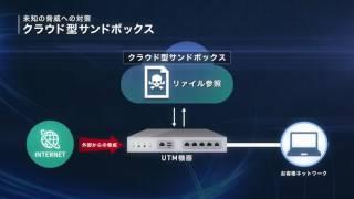 統合脅威管理サービス「NUROセキュリティ UTM」 | NURO Biz thumbnail