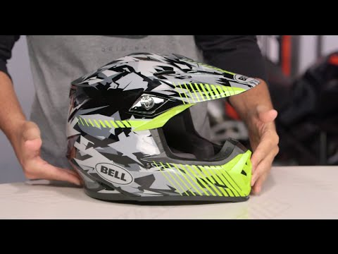 Bell Motorcycle Helmet >> Bell Moto-9 Camo Helmet Review at ReZilla.com - YouTube