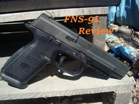 FNH FNS-9 long slide review plus holster