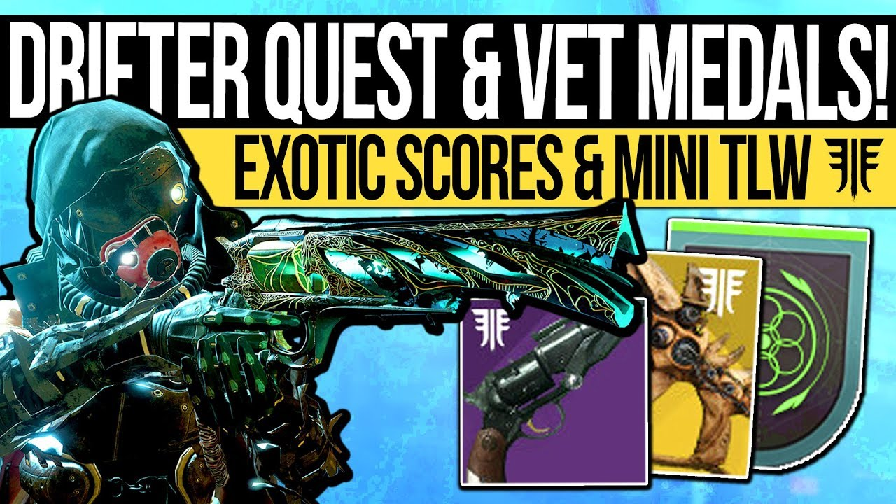 Destiny 2 | DRIFTER QUEST & MINI LAST WORD! Awoken City Quests, D1  Triumphs, New Armor Mods & More