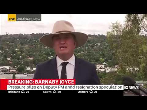 Doing it for the 'weatherboard & iron': Barnaby Joyce to resign at Monday meeting