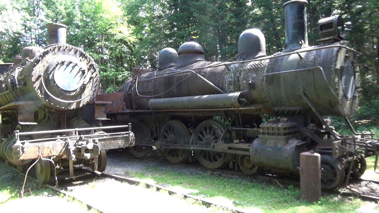 Abandoned Allagash Ghost Trains and Tramway - YouTube