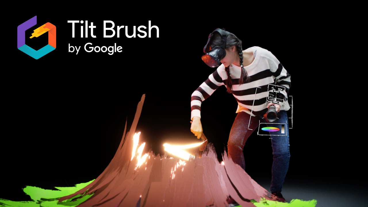 """Résultat de recherche d'images pour """"tilt brush"""""""