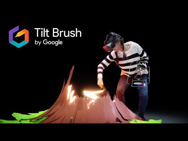 Tilt Brushのイメージ