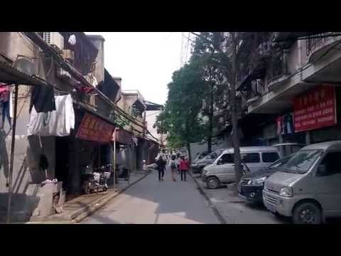 Old parts of Wuhan city in Hubei Province, China