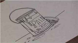 Drawing Lessons : How to Draw Paint Cans