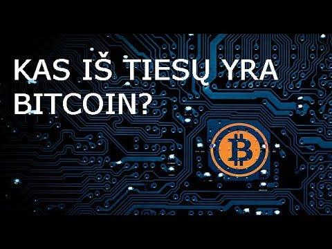 kas yra bitcoin)