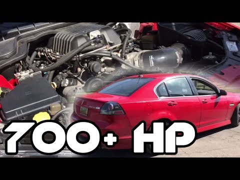 700 HP Pontiac G8 HELLCAT KILLER & My G8!