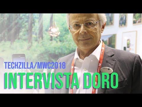 Intervista Doro - Smartphone e Smart home per anziani - MWC 2018