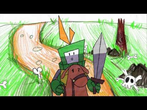 Film de diplôme Bachelor Animation 2D : Dessin d'Enfant