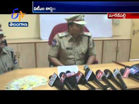 Cyberabad Cops Arrests An ATM Card Theif At Maredpalli Of Secunderabad