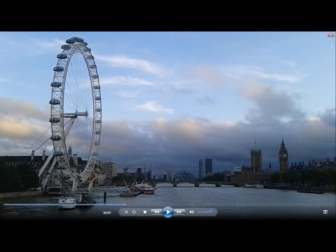 Fantastic View on-foot of the London Eye, Big Ben and Houses of Parliament