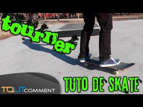 Apprendre à tourner en skate : tuto pour débutant