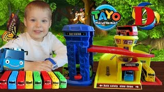 Тайо маленький автобус Tayo Bus Tools Kit DIY 장난감 Unboxing Repair Toys for Kids and Toddlers