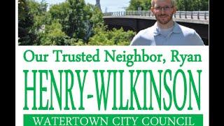 Elect Ryan Henry-Wilkinson NOVEMBER 3rd!