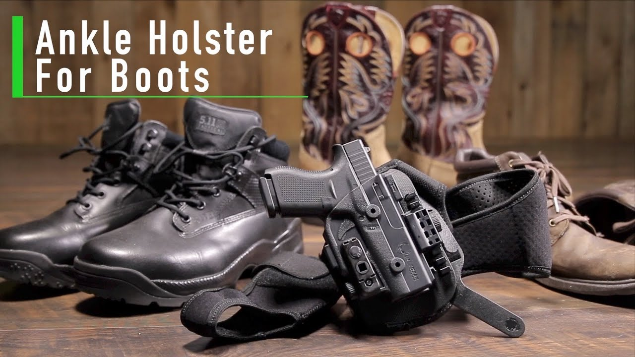 ankle holster boots