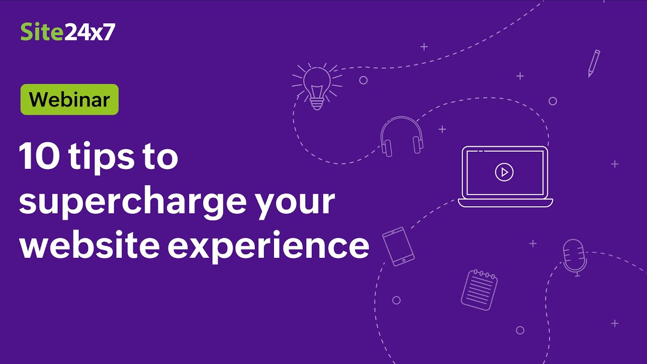 [Webinar] Ten tips to supercharge your website experience