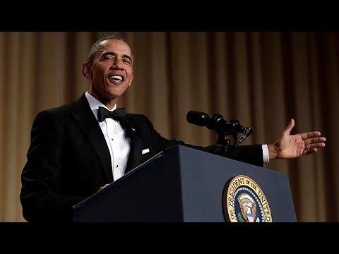 Obama Geleneksel Davetin Konuklarını Kahkahaya Boğdu