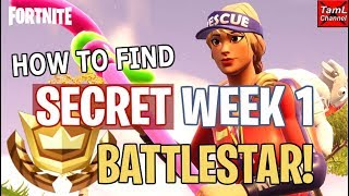 Fortnite: How to Find SECRET Week 1 Road Trip Battlestar!