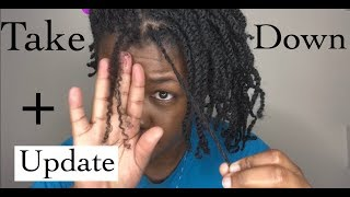 How To Care for Twists | Take Down | Quick Update