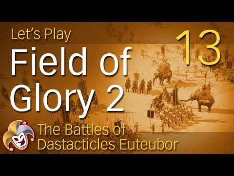 Field of Glory 2 ~ Bactrian Campaign ~ 13 Battle vs Sarmatians