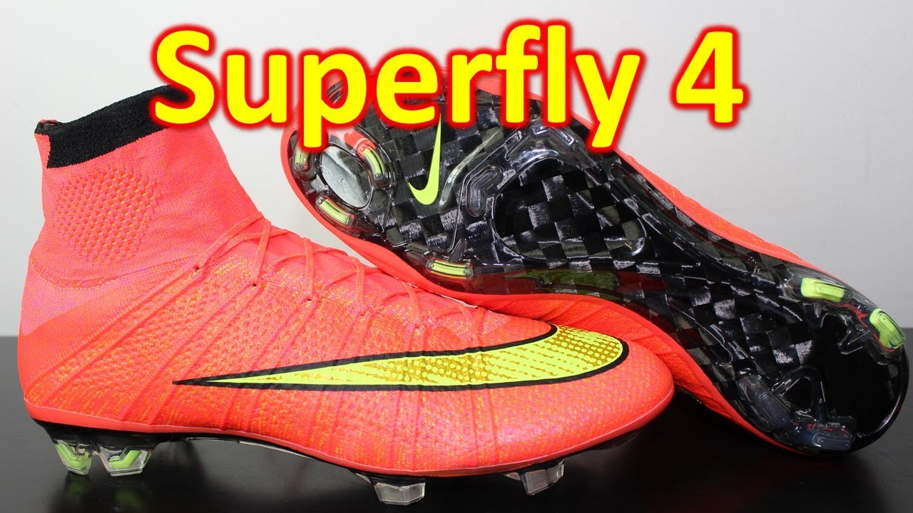 5b5180d933e Nike Mercurial Superfly 4 Hyper Punch Volt - Unboxing + On Feet ...