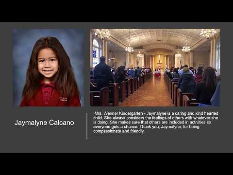 St John Vianney Regional School Disciple of the Month April