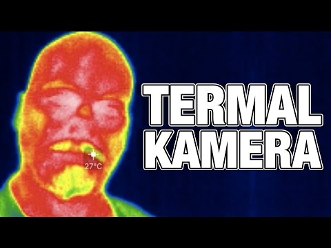 Termal Kamerayı Test Ettik - Zifiri Karanlıkta Bile Gösteriyor