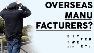 Starting a Streetwear Brand: How to find an Overseas Clothing Manufacturer!