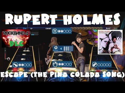 *NEW* Rupert Holmes - Escape (The Piña Colada Song) - Rock Band 4 DLC Full Band (September 6th 2018) thumbnail