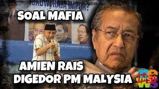 Tuding Jokowi Dicokok Mafia, Otak Amien Rais Siwing 'Digedor' Dr. Mahathir Mohamad