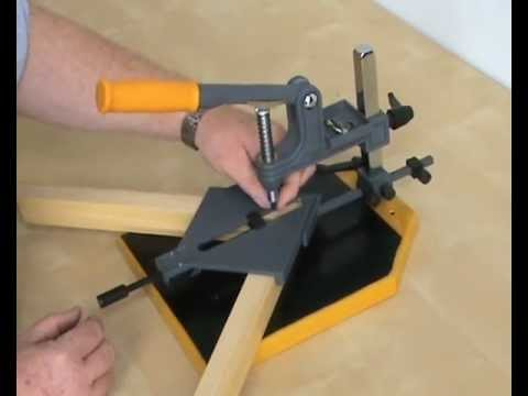 Framers Corner Pfk04 Hand Operated Frame Making Kit Youtube