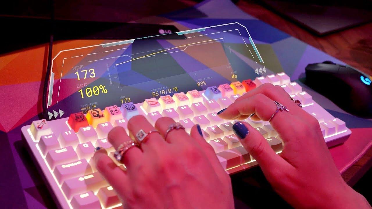 Download ASMR | Speed Typing / Testing 3 Mechanical Keyboards | Clicky, Satisfying, Typing Test