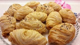 Çıtır Midye börek tarifi - Hazır yufkadan pratik börek tarifi - Ev Lezzetleri