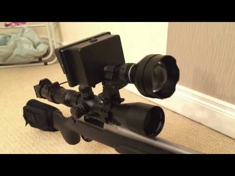 New NV for rifle scope With built-in DVR recorder.