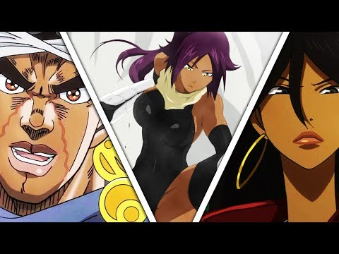 Black Characters In Anime