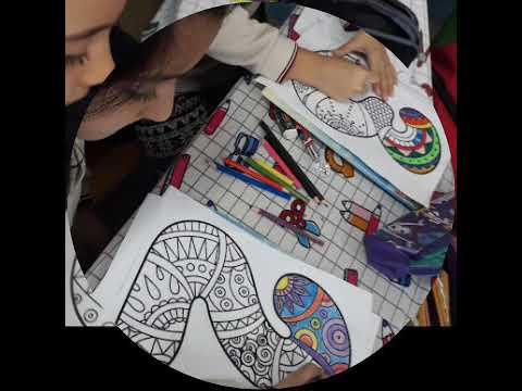 Mandala Rakamlari Boyama 3 D Sinifi Youtube
