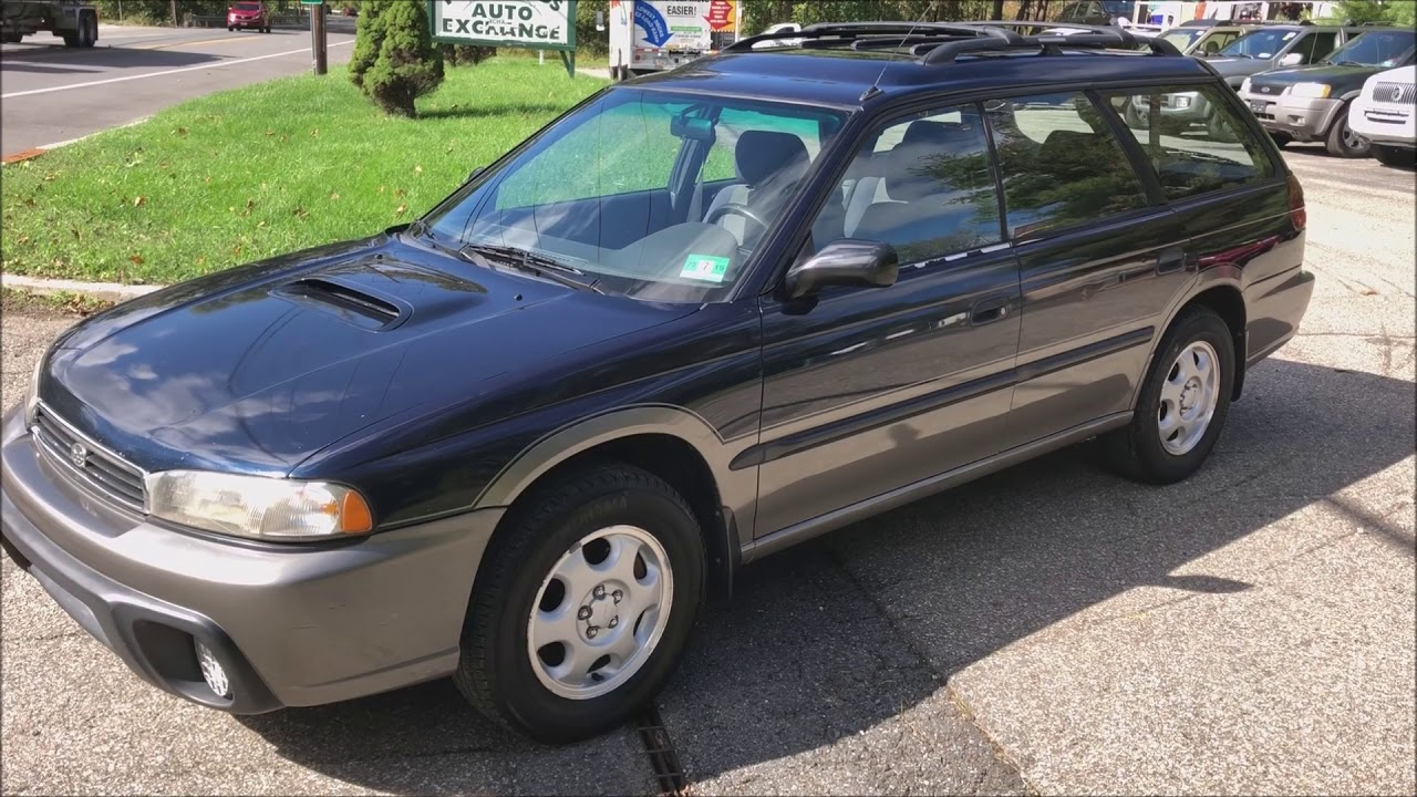 1997 Subaru Outback Legacy Wagon Blue For Sale