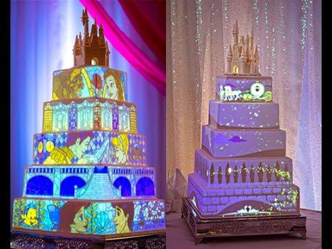 Disneys Frozen Fairy Princess Wedding Cake Disneys