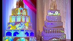 Disneys Frozen Fairy Princess Wedding Cake - Disney's Fairy Tale Weddings